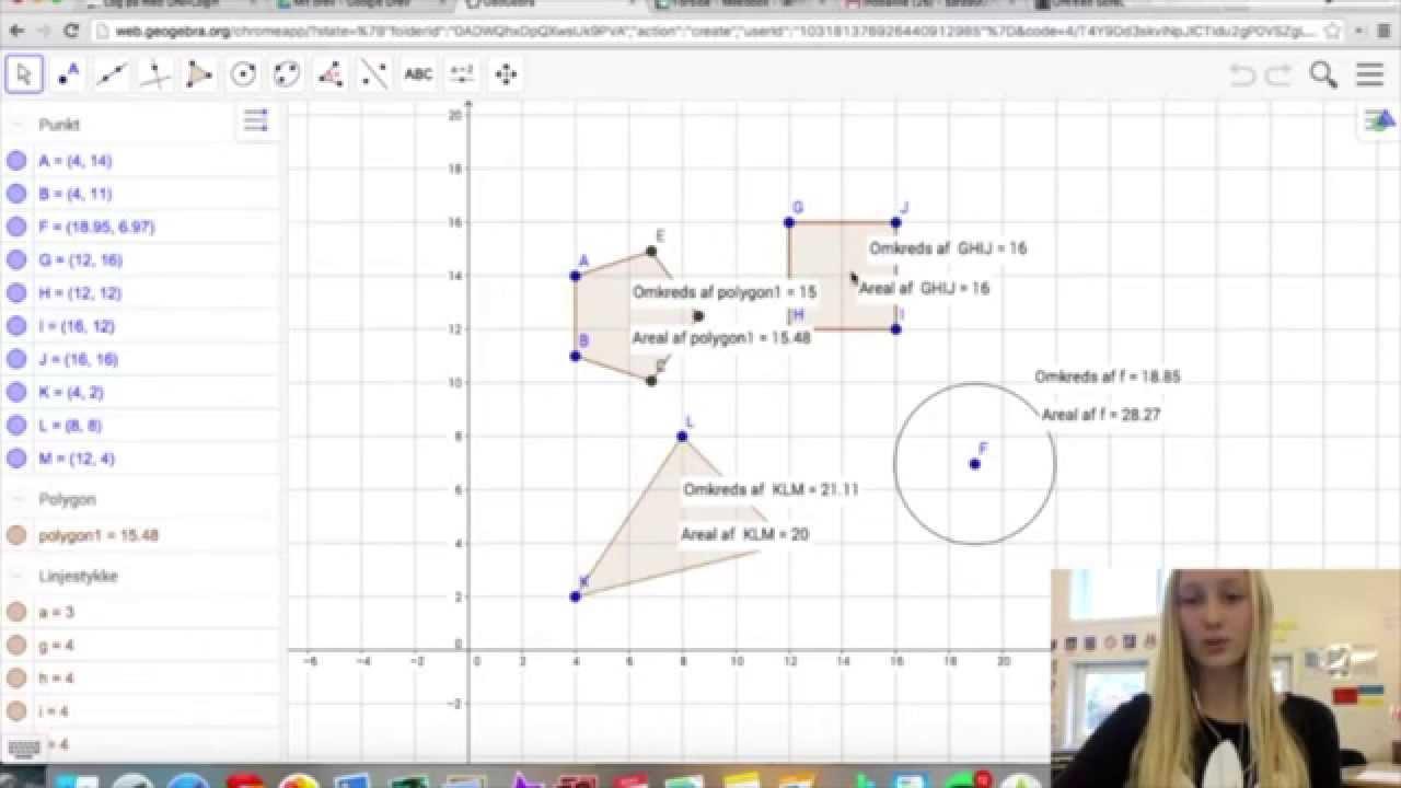 2. Sådan åbner du en Geogebra-fil og sådan gemme du igen efter endt arbejde