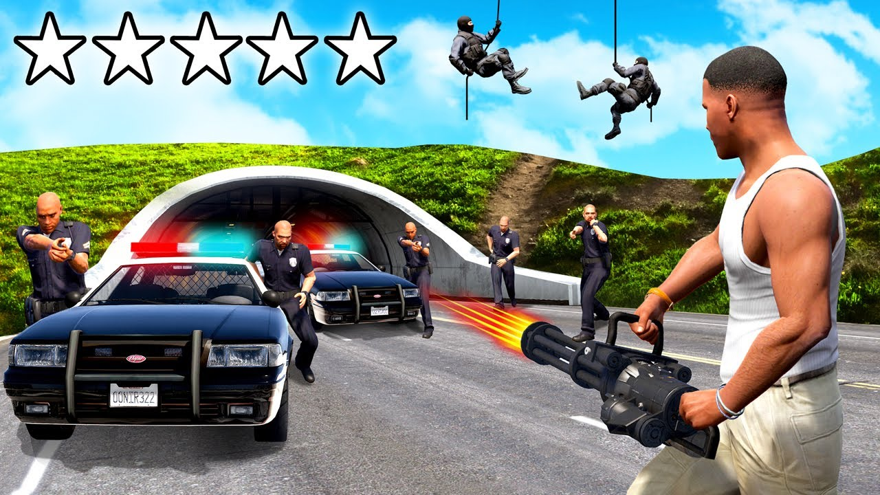 Download The TOUGHEST Challenge in GTA 5! (Eliminate the Cops)