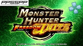 Monster Hunter Freedom Unite - PSP Gameplay (PPSSPP) 1080p