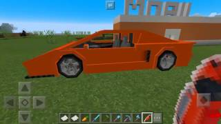 Aku mau beli Mobil Lamborghini Di Minecraft pocket edition