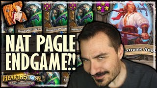 I TOOK PAGLE INTO ENDGAME?! - Hearthstone Battlegrounds