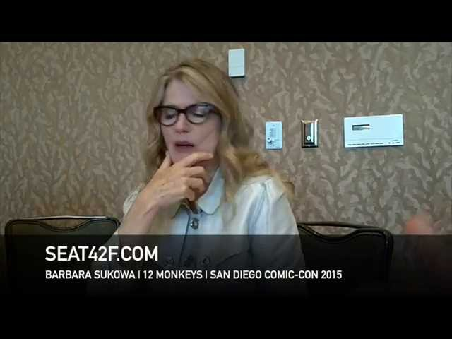 Barbara Sukowa 12 MONKEYS Comic Con 2015 Interview