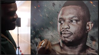 DERECK CHISORA DE FACES DILLIAN WHYTES POSTER & BRANDS HIM A PUNK!! AS THE FEUD TOUCH PAPER IS LIT