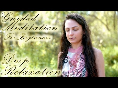 Guided Meditation For Deep Relaxation, Anxiety, Sleep or Depression - Calming Breath Exercises