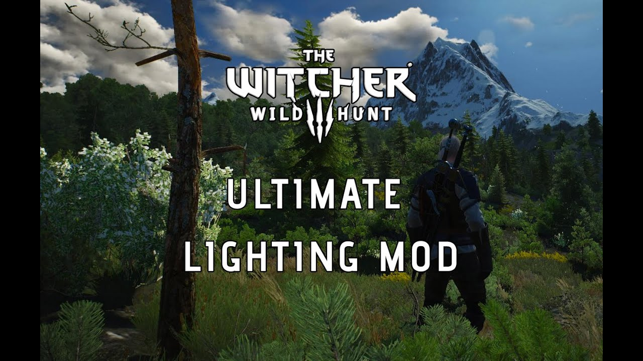 The witcher 3 mods ultimate lighting mod preview youtube Ultimate lighting