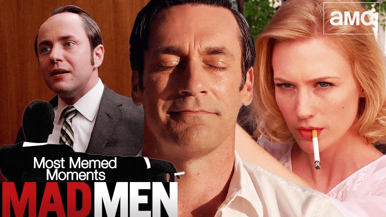 Download Most Unforgettable Moments on Mad Men 😂 Compilation