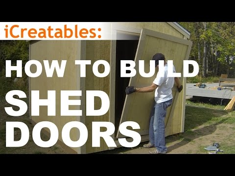 How To Build A Shed - Part 10 - Shed Door Building