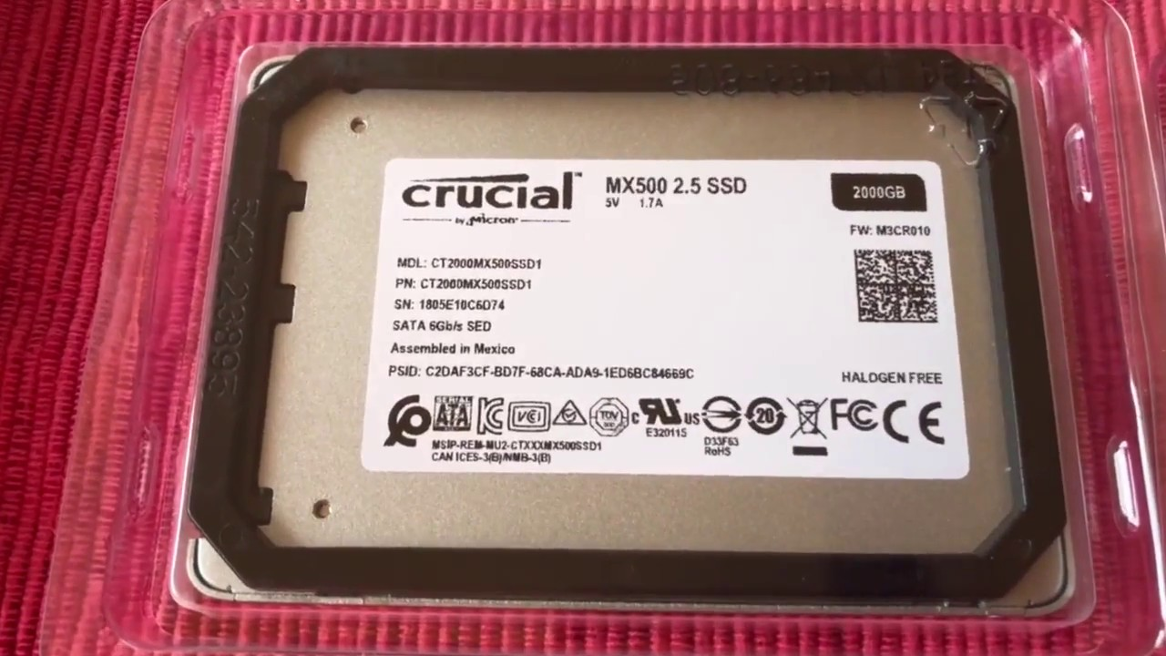 Beware Fake Crucial Mx500 Ssd Youtube