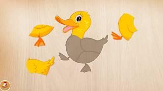 BÉ HỌC GHÉP HÌNH - trò chơi ghép hình động vật cho trẻ em