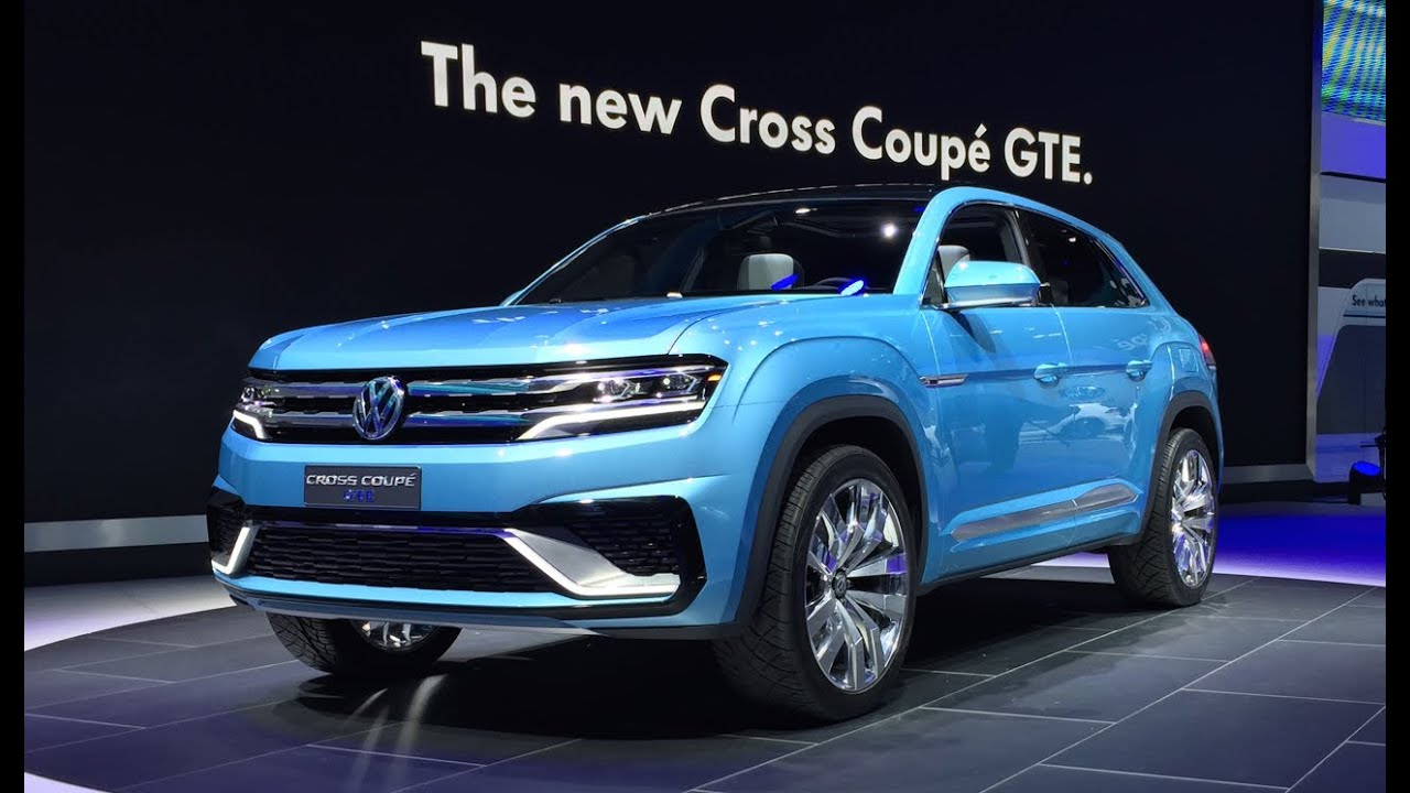Volkswagen Cross Coupe GTE Concept - 2015 Detroit Auto Show - Fast Lane daily - YouTube