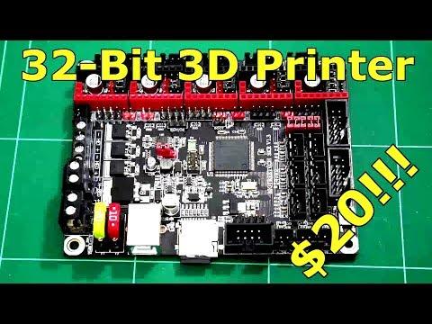 Cheap 32-bit 3D Printer Controller!