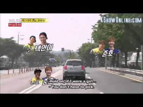 (RM 256) Running Man member talking about imaginary 2PM boyfriends