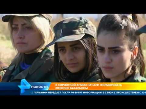 Сирийская армия формирует