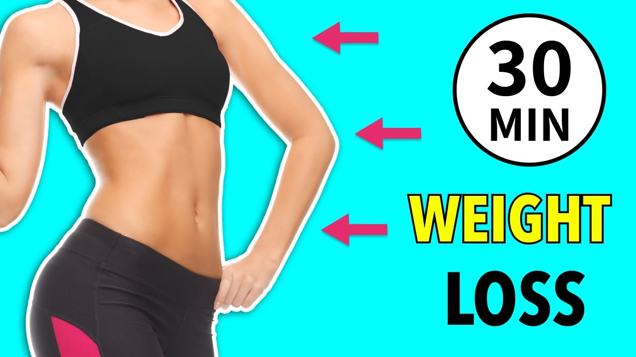 30 Min Weight Loss Cardio Workout - Simple Exercises