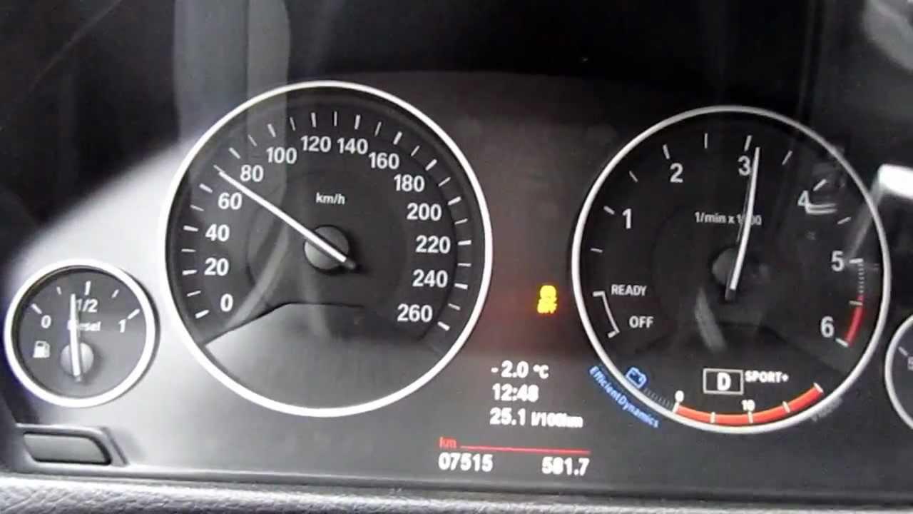 Bmw 330d F30 0 150 Kmh Youtube