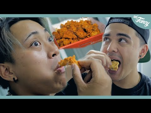 American YouTubers Try Korean Fried Chicken For The First Time feat. JRE & KennyBoySlay