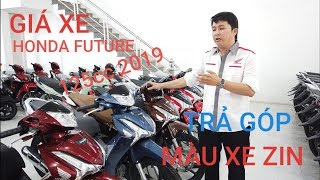 Giá xe Honda Future 125 2019 - CÁC MÀU XE ZIN