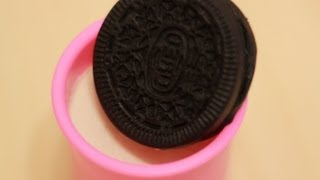 Play-Doh OREO Chocolate Sandwich Cookie with Milk