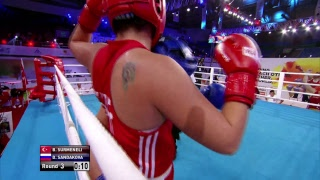 AIBA Women's World Boxing Championships New Delhi 2018 - Session 6 A