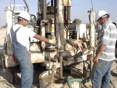 geotechnical - mud rotary drilling spt sampling - part 2