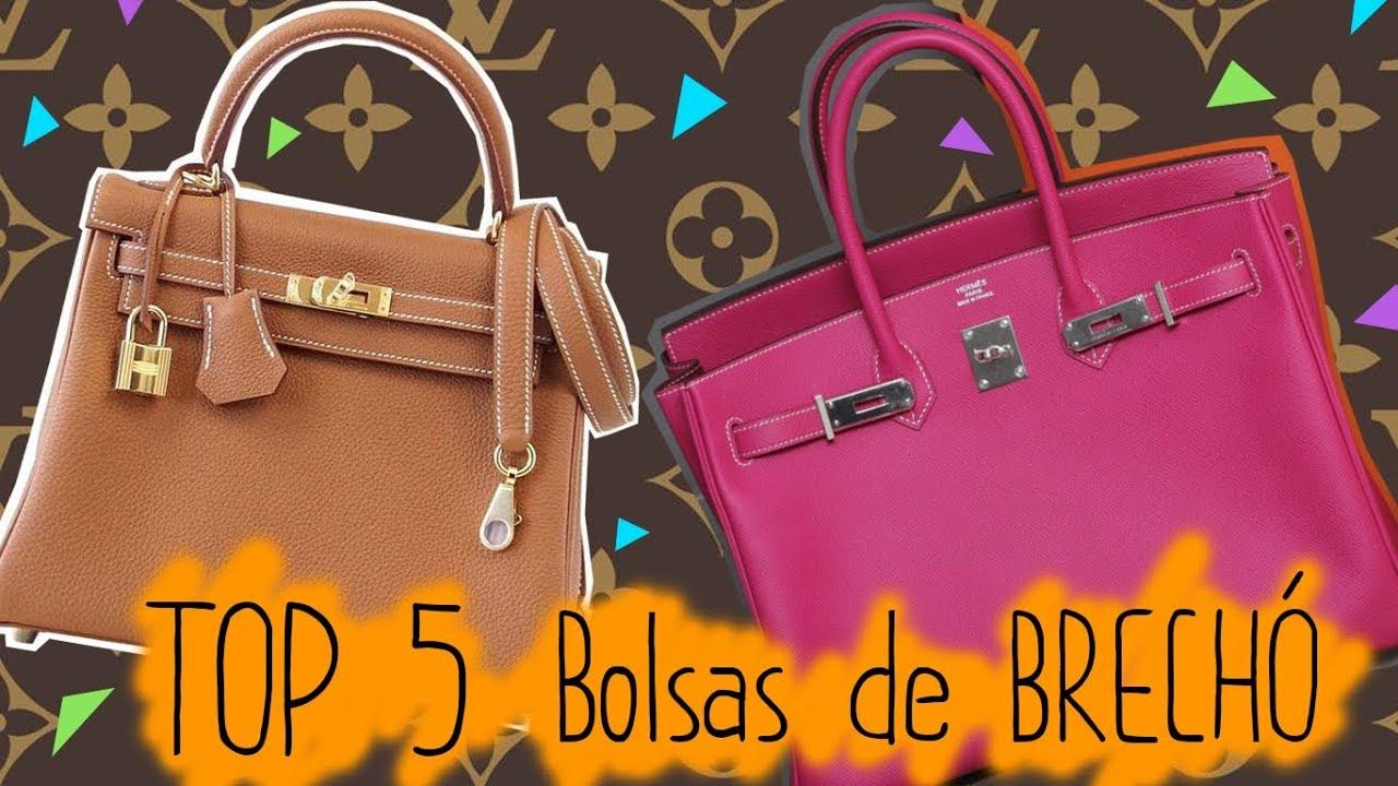 19aae40f5 TOP 5 Bolsas de Brechó de R$5,00 a R$30,00 - YouTube