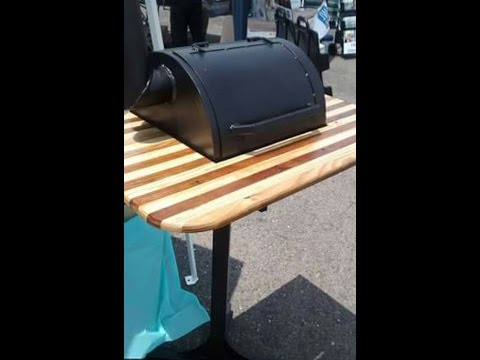 Small personal bbq pit build