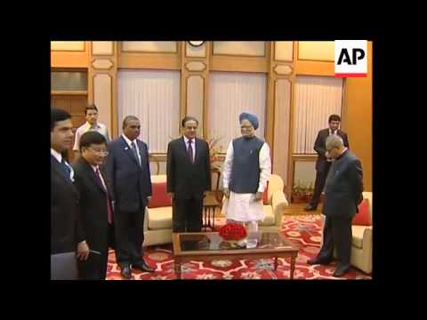 Indian PM meeting counterparts from Bangladesh, Nepal and Myanmar