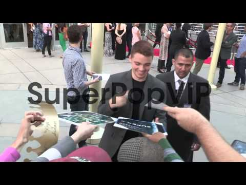 Gabriel Basso greets fans at The Kings Of Summer Premiere...