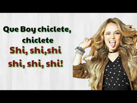 Larissa Manoela Boy Chiclete - Letra