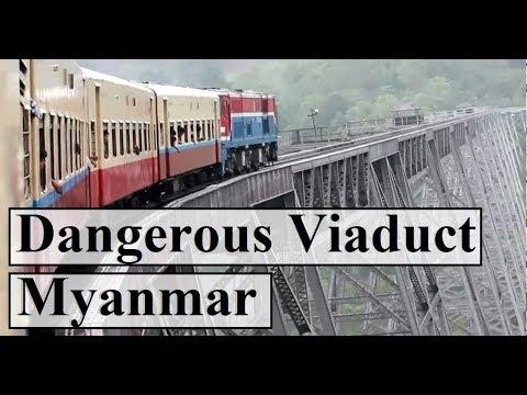 Myanmar/Burma (The Gokteik Viaduct: World's most dangerous railway bridge) Part 44
