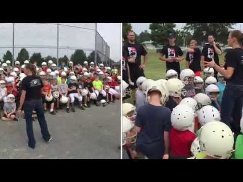 DPR Football Camp 2015 - Dexter, Missouri