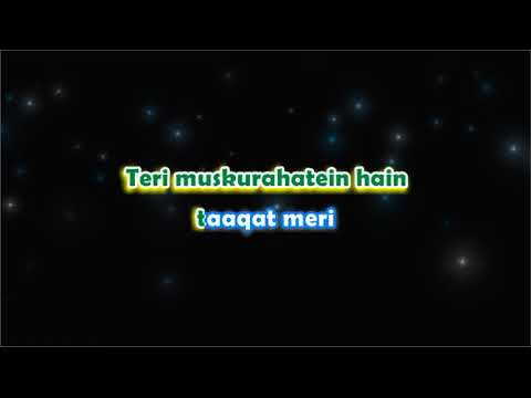 Humdard MTV Unplugged - Karaoke with Lyrcis