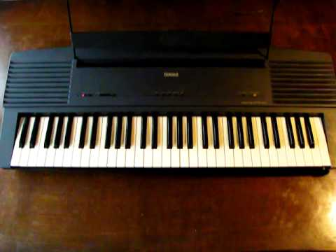 yamaha ypr 20 electric piano keyboard demo youtube. Black Bedroom Furniture Sets. Home Design Ideas