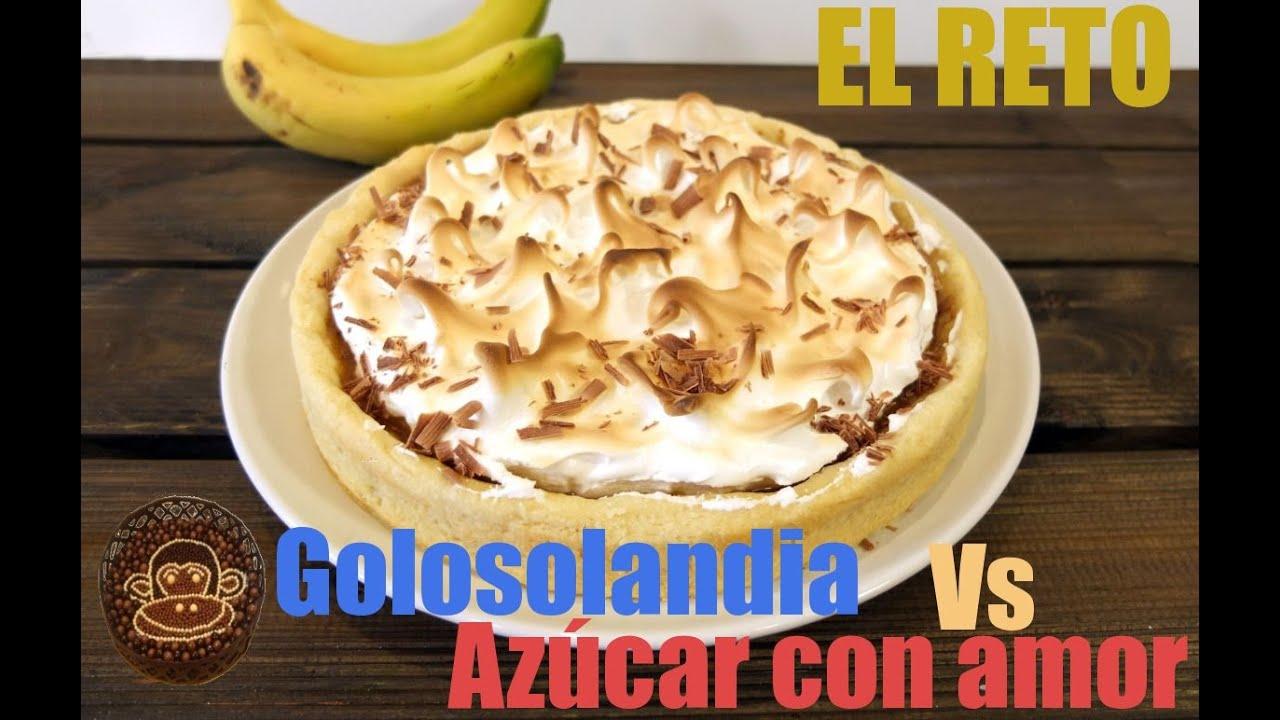 Download Banoffee pie o pastel banoffe. Receta de tarta de banana y toffe.