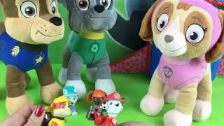 Patrulla canina español Juegan con Peppa Pig. vídeos Paw patrol niños