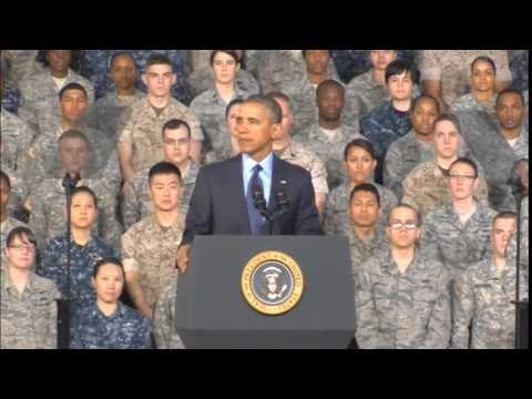 6106WD SOUTH KOREA-OBAMA US SOLDIERS
