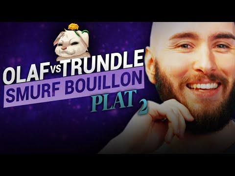 Vidéo d'Alderiate : ALDERIATE & AKABANE - SMURFING BOUILLON - OLAF VS TRUNDLE - CE TRUNDLE EST COMPLÈTEMENT FOU
