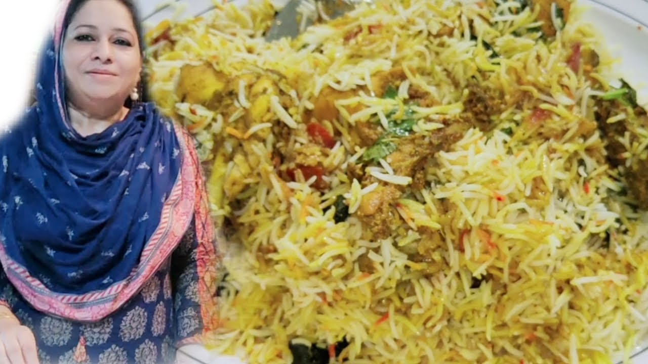 BAR BQ BIRYANI - TASTIEST BIRYANI RECIPE ♥️ BY COOKING WITH SHABANA