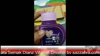 Cara Semak Dianz Vitamin Original by sazzahra.com