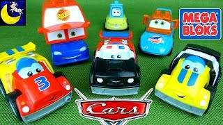 Mega Bloks Race Cars, Disney Cars, Mack and Lightning Mcqueen Mix and Match Toys and OcTOYber!