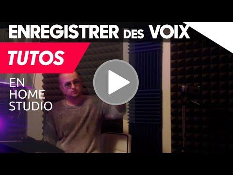 Enregistrer des Voix en Home Studio ★ Placement du Micro
