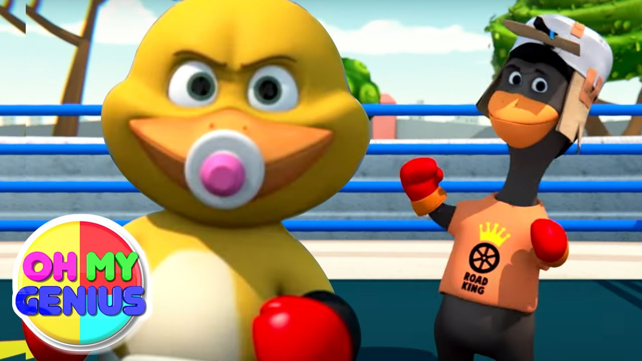 Gob and Friends - Boxing Fun   Cartoon Videos For Children   Funny Video with Oh My Genius