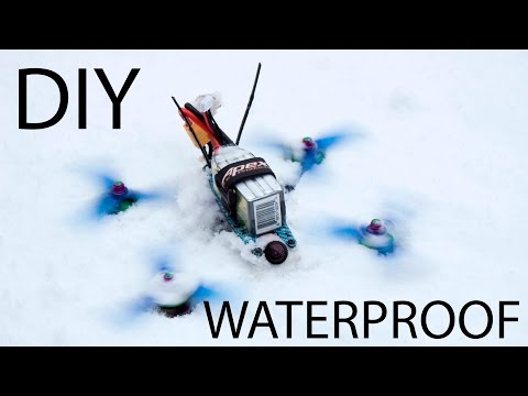 How to Waterproof Electronics (the clean way)