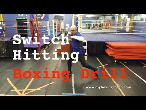 Switch Hitting Boxing Drill in 90 Seconds...ish