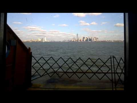 Traveling from staten island to manhattan on the ferry