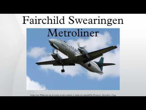 Fairchild Swearingen Metroliner