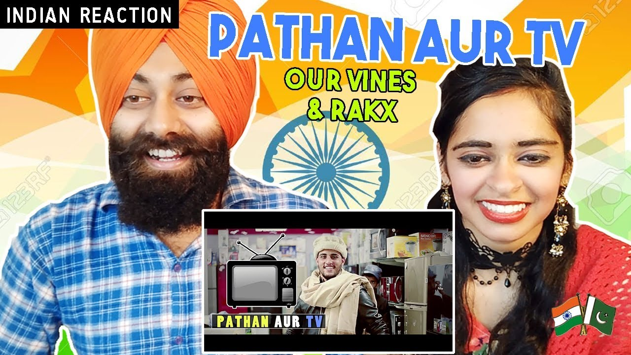 Indian Reaction on Pathan Aur Tv By Our Vines & Rakx Production