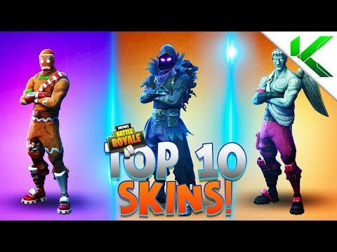 TOP 10 BEST SKINS In Fortnite Battle Royale! (Fortnite Top 10 Skins)