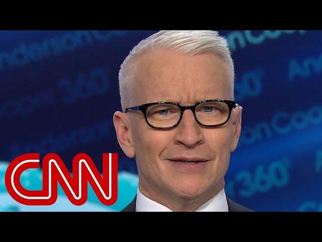 Anderson Cooper rips Trump's latest pardons