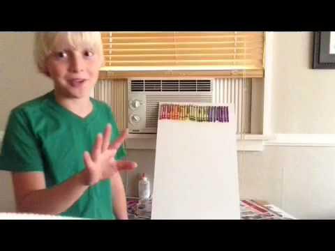 DIY:Melting Crayons